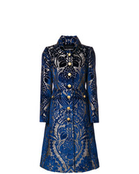 Dolce & Gabbana Printed Flared Coat