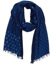 Mix print organic cotton scarf medium 4354365