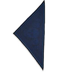 Alexander McQueen Skull Print Triangle Scarf