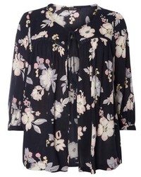 Evans Plus Size Floral Print Cover Up