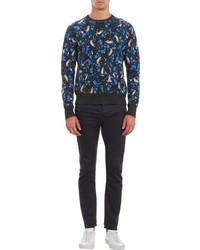 Acne Studios Abstract Print College Sweatshirt