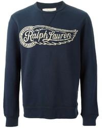 Denim & Supply Ralph Lauren Ralph Lauren Denim Supply Logo Print Sweatshirt