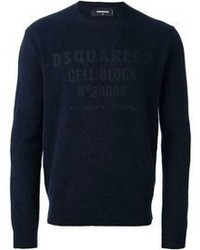 DSQUARED2 Logo Print Sweater