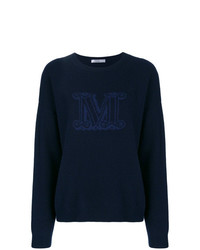 Max Mara Knitted Logo Sweater
