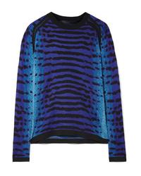 Proenza Schouler Med Intarsia Silk Sweater
