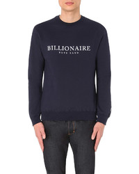 Billionaire Boys Club Monaco Cotton Jersey Sweatshirt