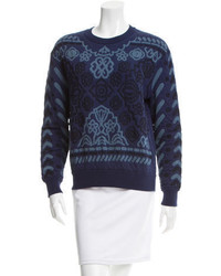 Stella McCartney Oversize Crew Neck Sweater