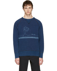 Rag and bone indigo new york vacation sweatshirt medium 3723384