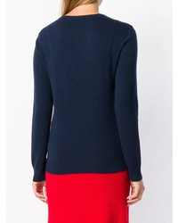 Cashmere In Love Sky Intarsia Jumper