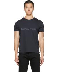 Saint Laurent Cotton Reverse T Shirt
