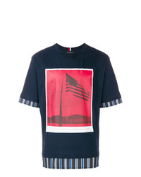 Tommy Hilfiger Flag Photo T Shirt