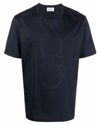 Salvatore Ferragamo Gancini Motif T Shirt