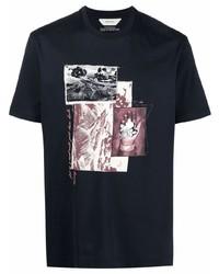 Z Zegna Graphic Print Short Sleeve T Shirt