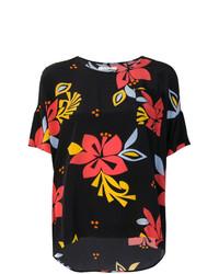 Hibiscus print top medium 7784607