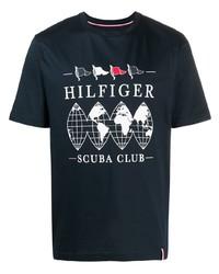 Tommy Hilfiger Logo Print T Shirt