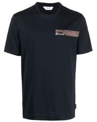 Z Zegna Logo Print T Shirt