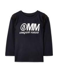 MM6 MAISON MARGIELA Med Printed Jersey T Shirt