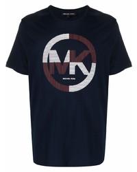 Michael Kors Michl Kors Logo Print Short Sleeved T Shirt