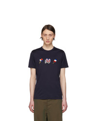 Moncler Navy Ice Cream T Shirt