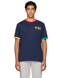 Polo Ralph Lauren Navy Logo Ringer T Shirt