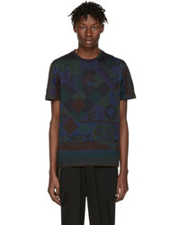 Versace Navy Mask T Shirt