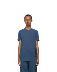 Lanvin Navy Mother And Child T Shirt