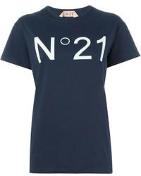 No.21 No21 Logo Print T Shirt