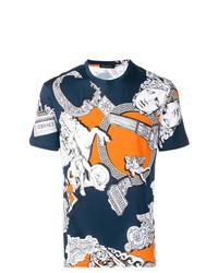 Versace Pegasus Print T Shirt