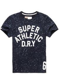 Superdry Splatter All Over Print T Shirt