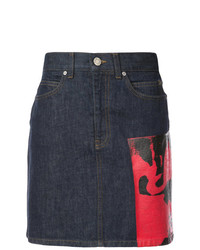 Calvin Klein 205W39nyc X Andy Warhol Foundation Dennis Hopper Denim Skirt