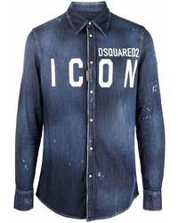 DSQUARED2 Icon Denim Shirt