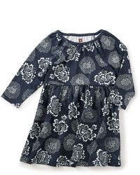 Tea Collection Girls Tsuki Print Dress