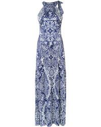 Mary Katrantzou Shaw Printed Gown