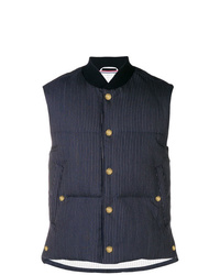 Thom Browne Narrow Pinstripe Down Vest