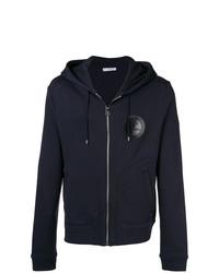 Versace Collection Logo Zip Front Hoodie