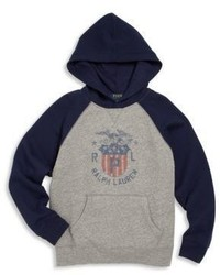 Ralph Lauren Toddlers Little Boys Boys Hooded Graphic Sweatshirt