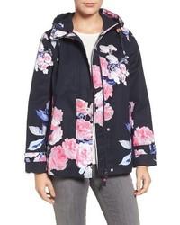 Right as rain print waterproof hooded jacket medium 3655637