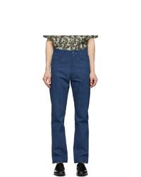 Fendi Blue Laser Jeans