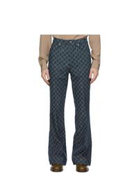 Gucci Indigo Gg Jeans