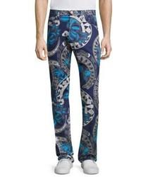 Versace Jeans Regular Fit Chain Print Jeans