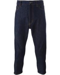 Jil Sander Printed Pocket Cropped Jeans