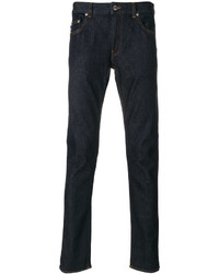 Love Moschino Peace Print Slim Fit Jeans