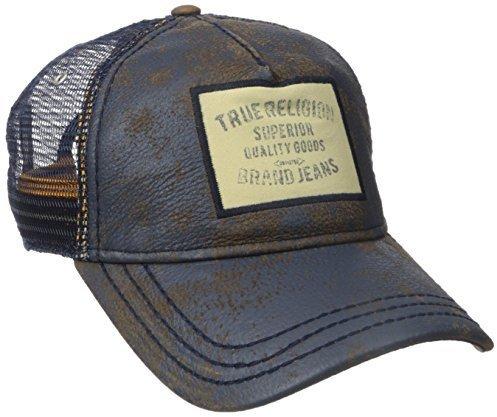 a5b1d415310 ... True Religion Printer Leather Baseball Cap