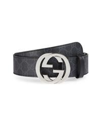 Gucci Logo Interlocking Belt