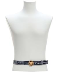Versace Medusa Logo Leather Belt
