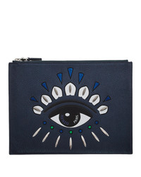 Kenzo Navy Limited Edition Holiday Kontact Eye Clutch
