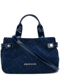 Armani Jeans Heart Print Shoulder Bag