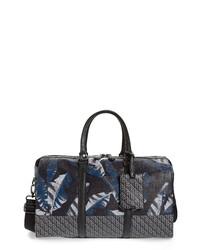 Ted Baker London Gelada Print Faux Leather Duffle Bag