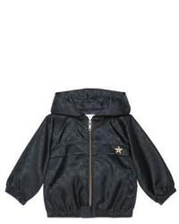 Gucci Babys Printed Zip Hood Jacket