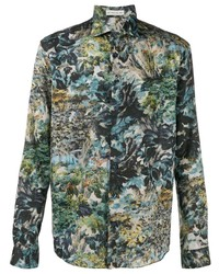 Etro All Over Print Shirt
